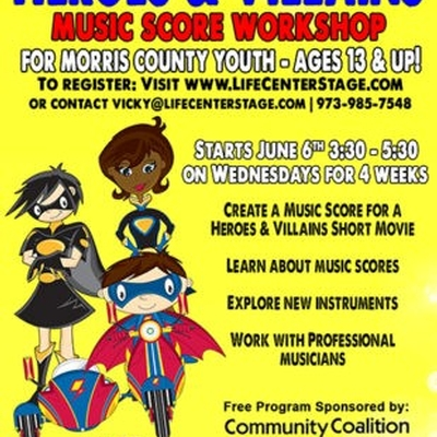 Heroes and Villains Music Score Workshop