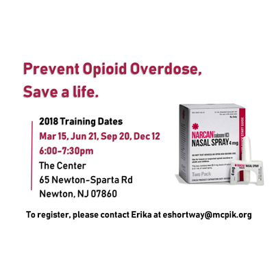 Narcan Training, June 21