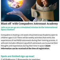 Compadres is hosting a Virtual Astronaut Academy