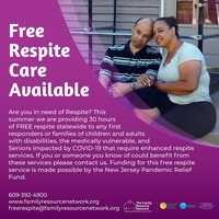 Free Respite Care Available