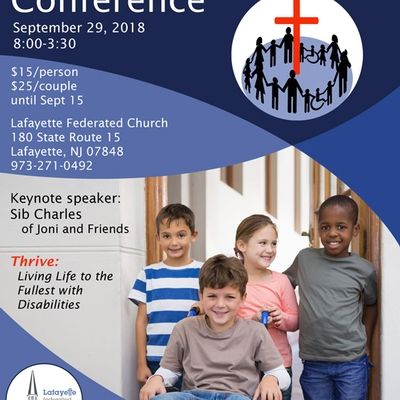 2nd Annual North Jersey Family Disability Conference